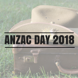 2018 ANZAC Day Services